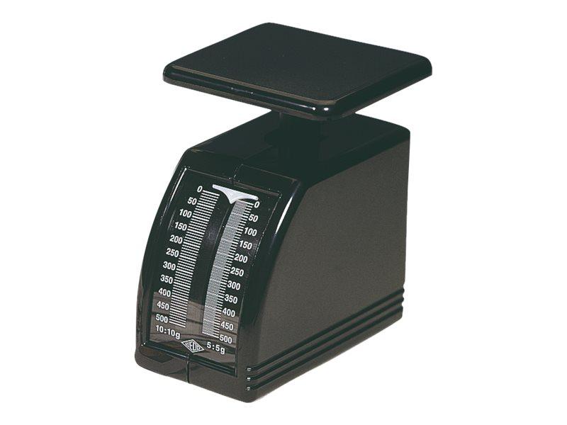 Wedo Handy - Balance pèse-lettres mécanique - 500 gr - noir