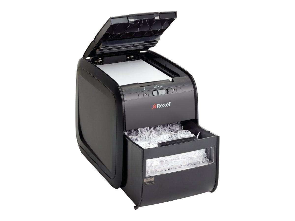 Rexel Auto+ 60X - destructeur de documents coupe croisée - 60 feuilles - Corbeille 15 litres