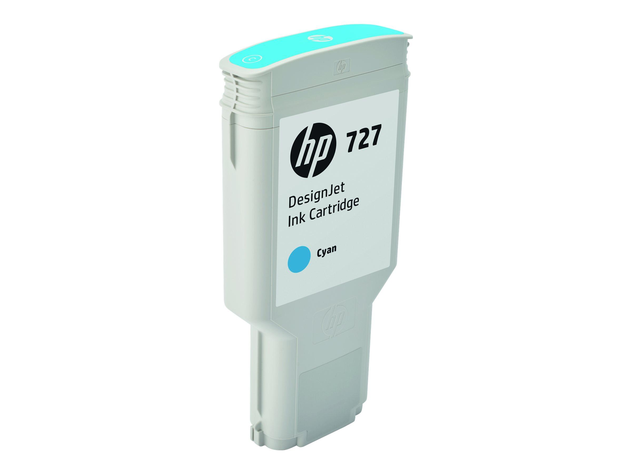 HP 727XL - cyan - cartouche d'encre originale