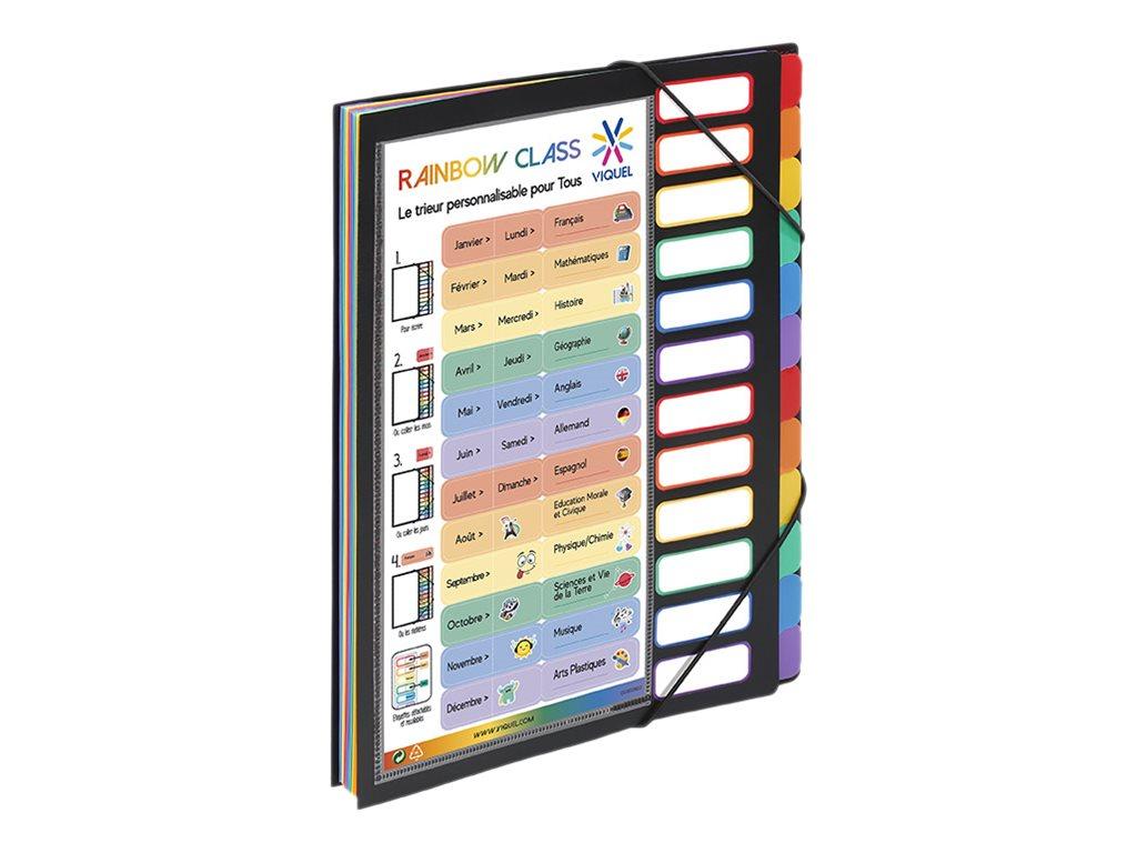 Viquel Rainbow Class - Trieur extensible 12 positions