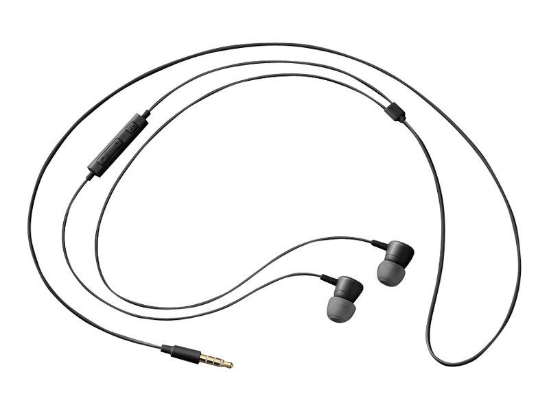 SAMSUNG Kit main libre - Ecouteurs filaire avec micro - intra-auriculaire - noir