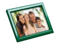 Promocome Ecoframe - Cadre porte-affiche clippant à poser ou à fixer au mur - A4 - noir