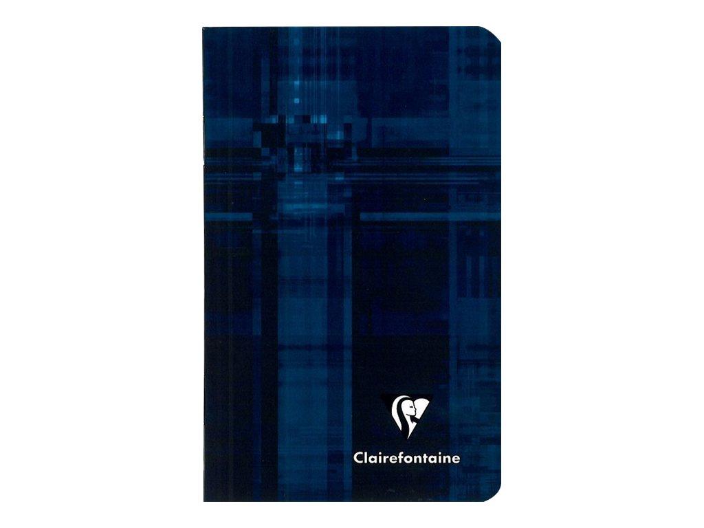 Clairefontaine - Carnet 7,5 x 12 cm - 48 pages - petits carreaux (5x5 mm) - disponible dans différentes couleurs