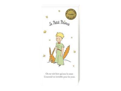 Kiub Le Petit Prince - Bloc notes/to do list aimanté - 75 pages - renard