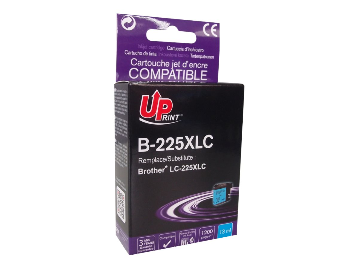 Brother LC225XL - compatible UPrint B.225XLC - cyan - cartouche d'encre