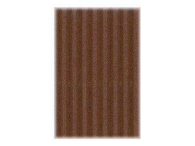 Clairefontaine - Carton ondulé - rouleau de 70 x 50 cm - 300 g/m² - chocolat