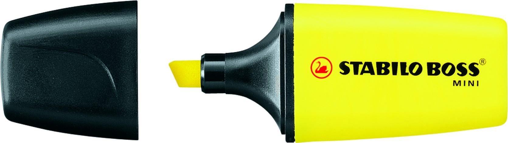 STABILO BOSS MINI - Surligneur - jaune