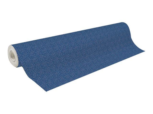 Clairefontaine Alliance - Papier cadeau - 70 cm x 50 m - 60 g/m² - motif confettis bleus