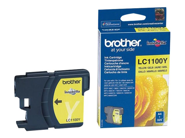 Brother LC1100 - jaune - cartouche d'encre originale