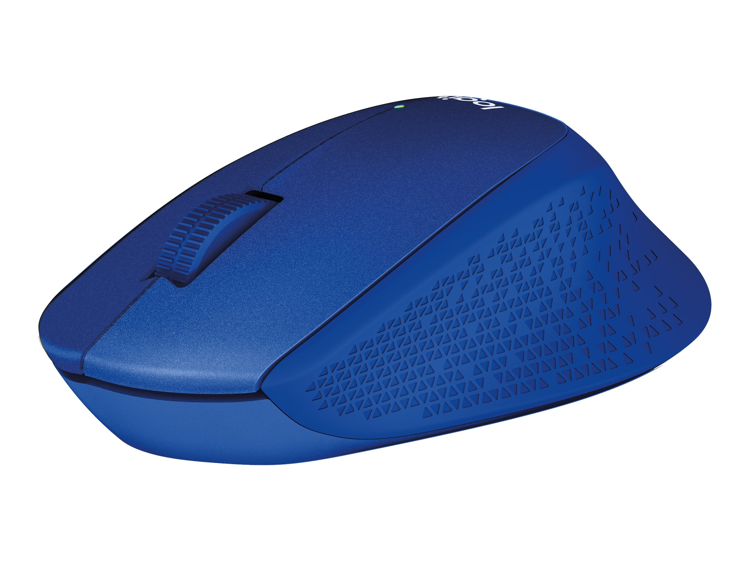 Logitech M330 - souris sans fil silencieuse - bleue
