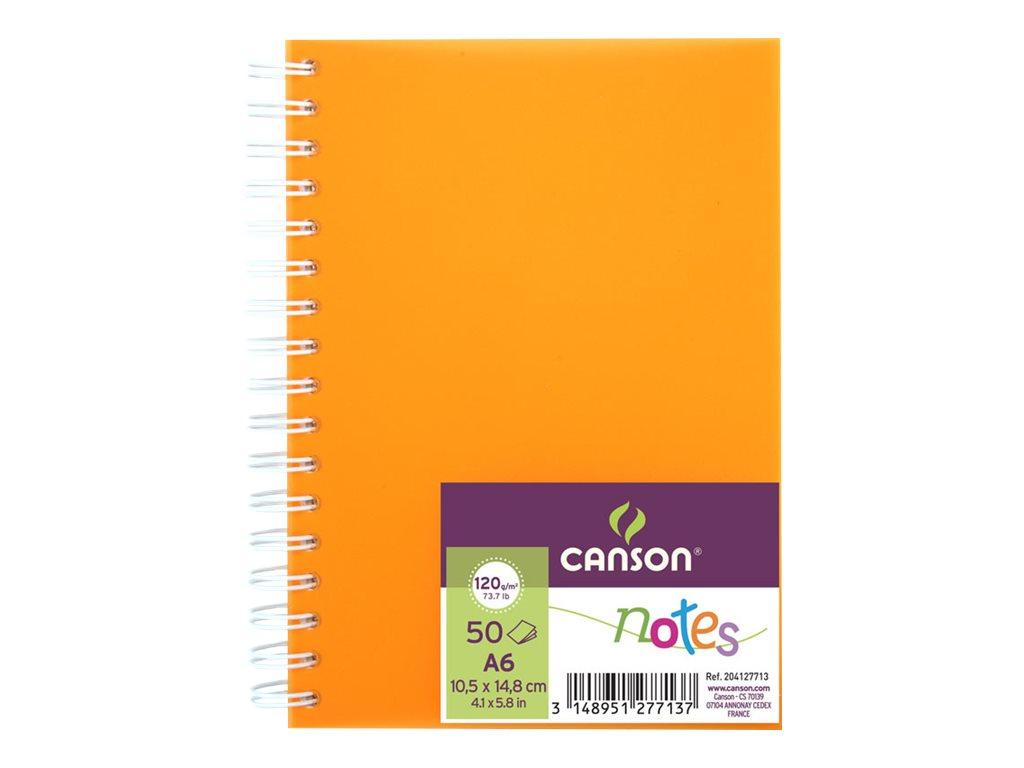 CANSON - Carnet de dessin A6 - 50 feuilles - 120g