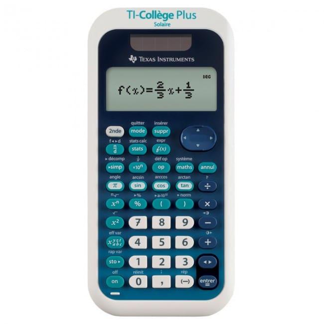 calculatrice ti-college