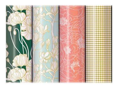 Clairefontaine Excellia - Papier cadeau - 70 cm x 2 m - 80 g/m² - collection vintage floral