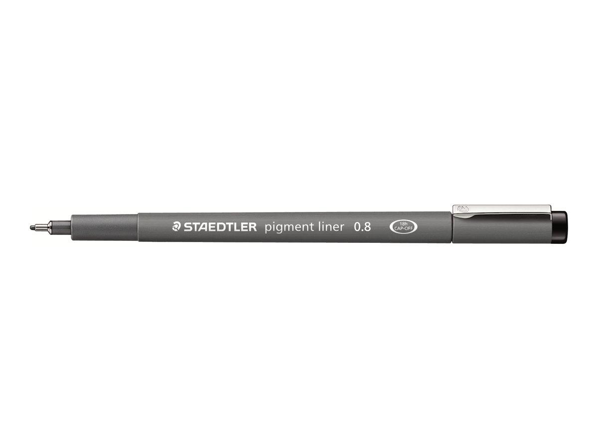 STAEDTLER pigment liner - Feutre fin - 0.8 mm - noir