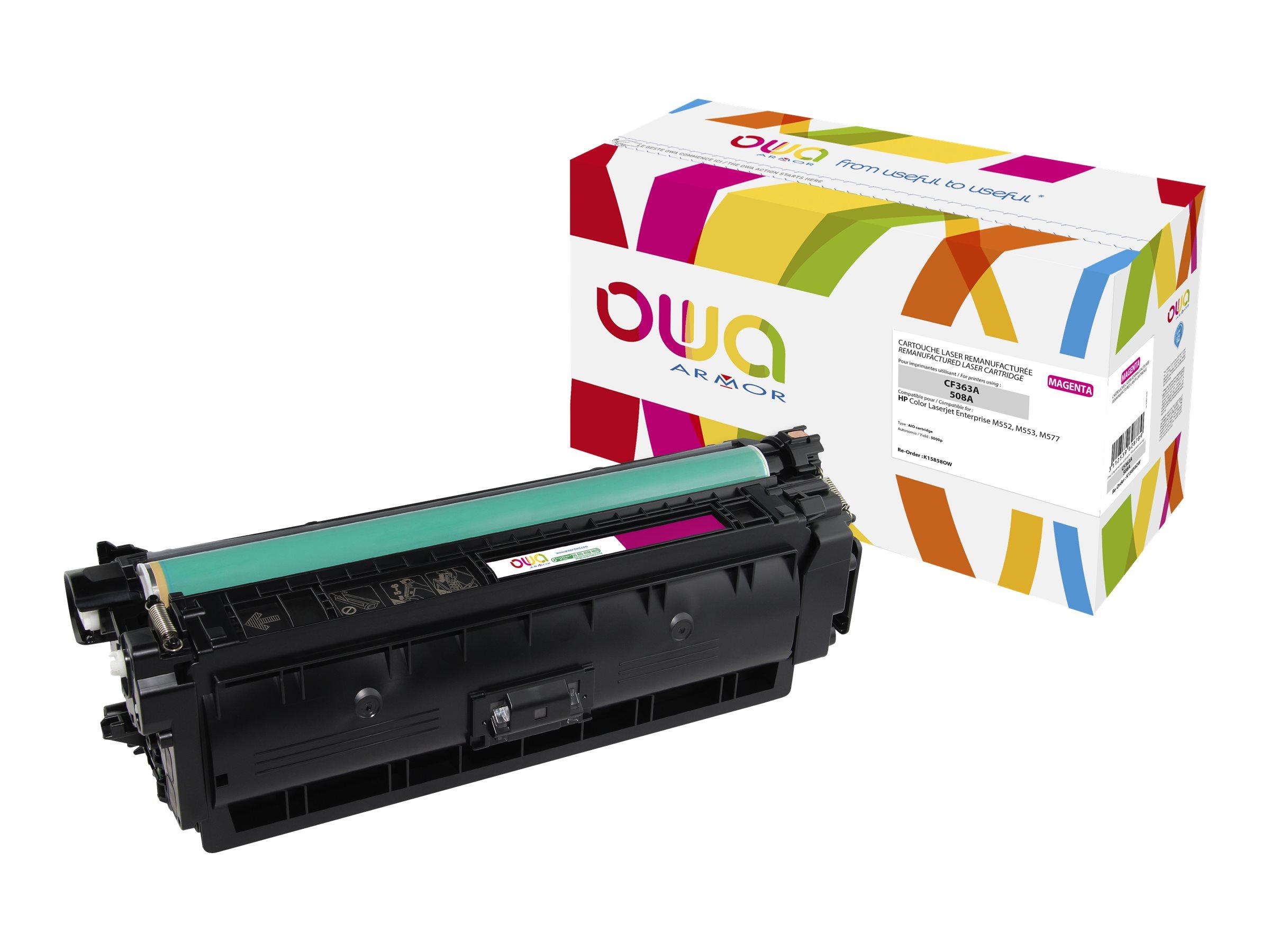 HP 508A - remanufacturé Owa K15858OW - magenta - cartouche laser