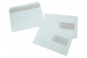La Couronne - 500 Enveloppes C5 162 x 229 mm - 80 gr - fenêtre 45x100 mm - blanc - bande auto-adhésive