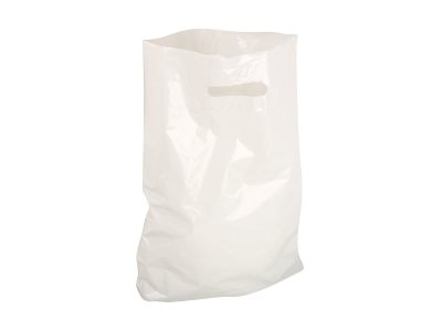 Logistipack - 100 Sacs bretelles 80% recyclé - 50 x 50 x 4 cm