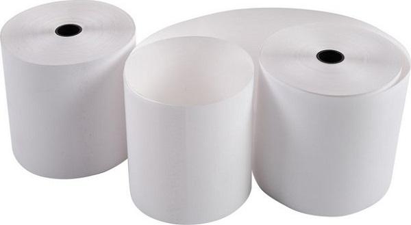 Exacompta - 10 Bobines caisses et calculatrices - papier offset 57 x 70 x 12 mm - 40 m