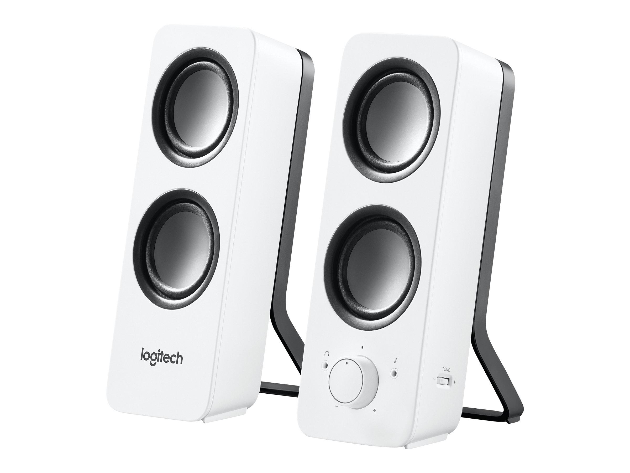 LOGITECH Z200 - Mini enceinte multmédia - 5W - blanc