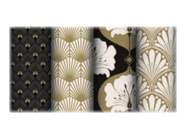 Clairefontaine Excellia - Papier cadeau - 70 cm x 2 m - 80 g/m² - collection art deco
