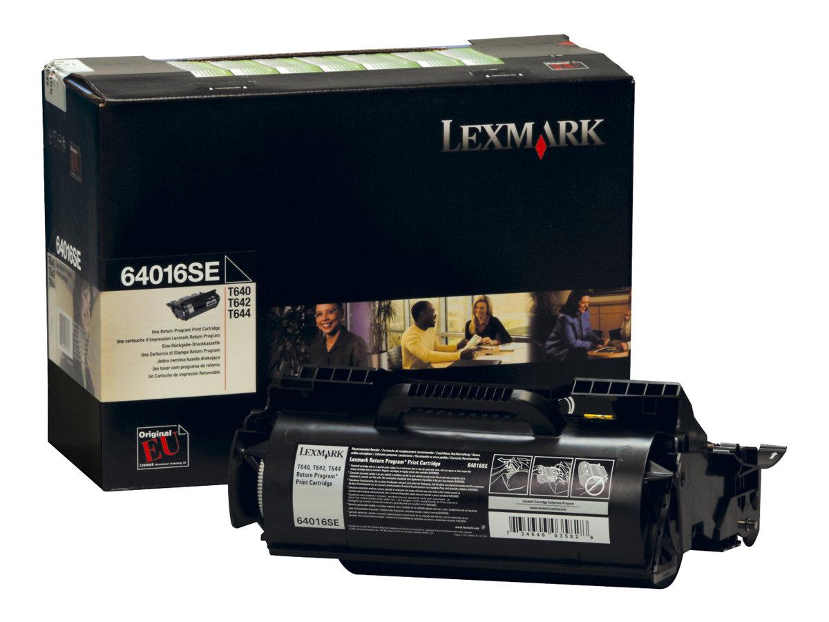 Lexmark 64016SE - noir - cartouche laser d'origine