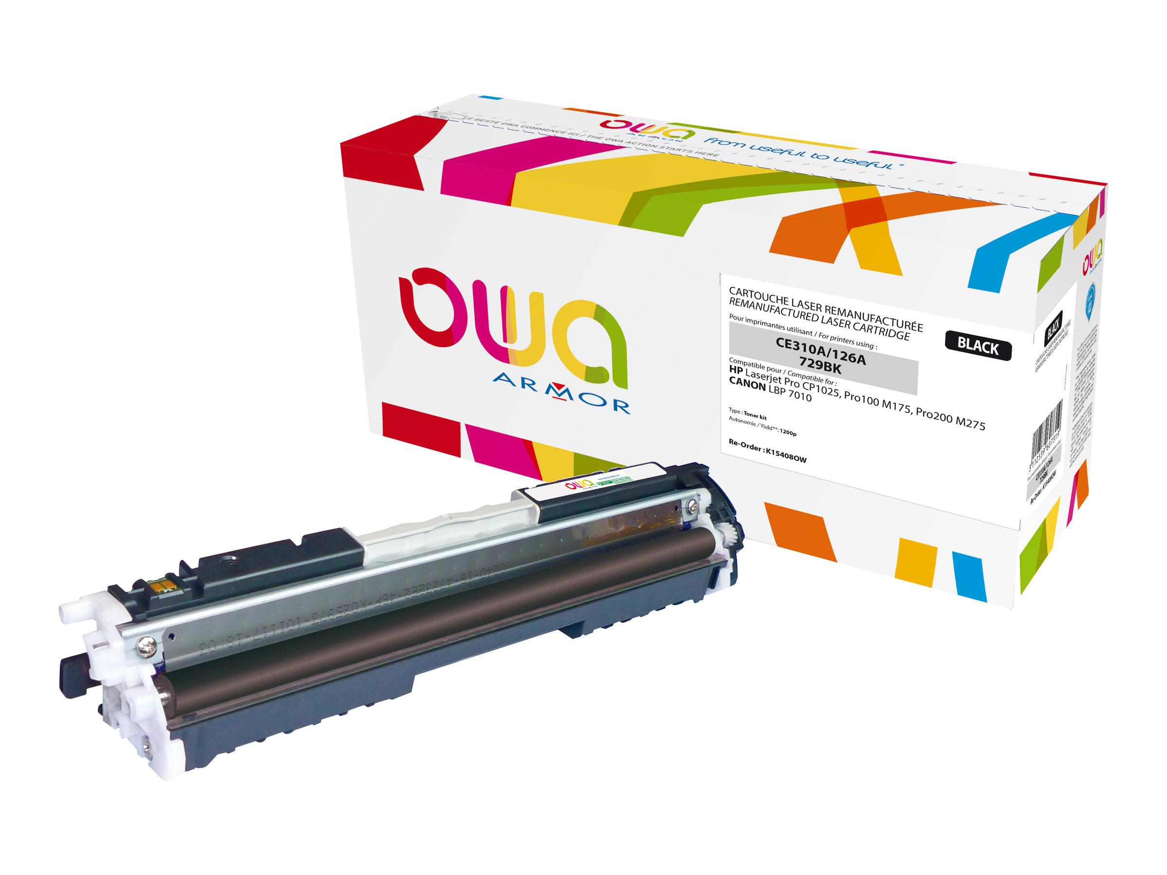 Owa K15408OW cartouche équivalente HP 126A - noir