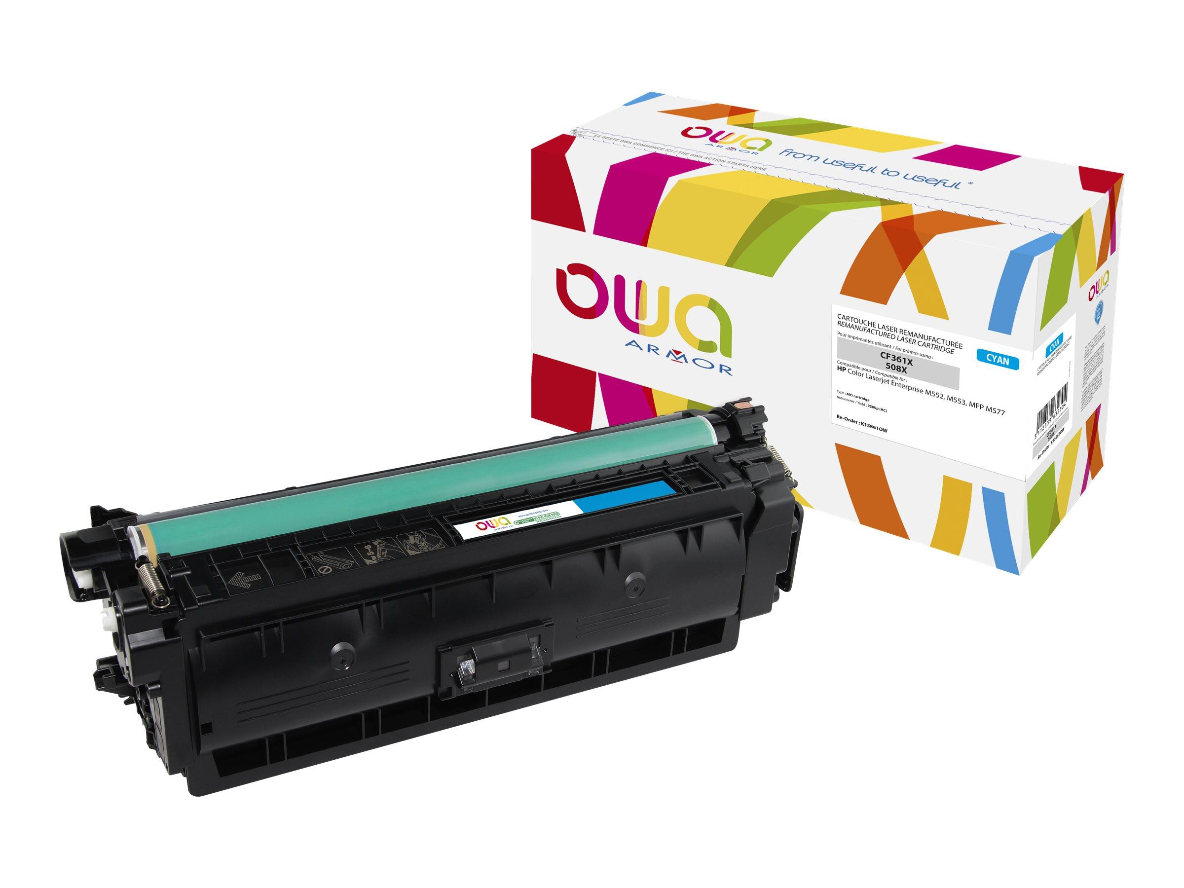HP 508X - remanufacturé Owa K15861OW - cyan - cartouche laser