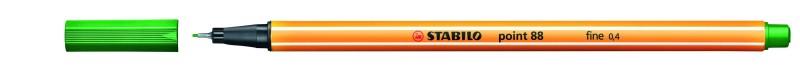 STABILO point 88 - Feutre fin - 0.4 mm - vert