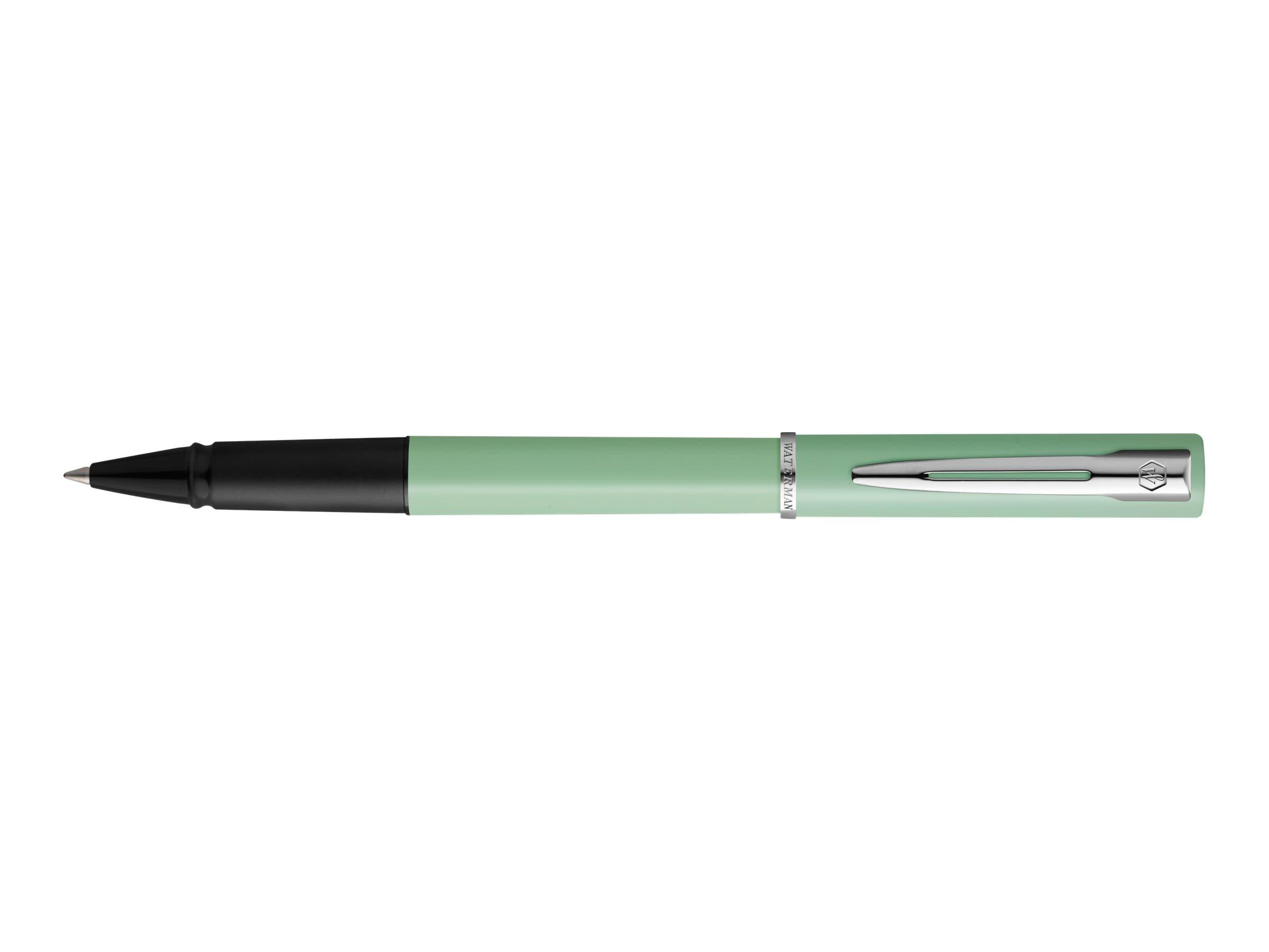 Waterman Allure - Roller vert pastel - pointe fine