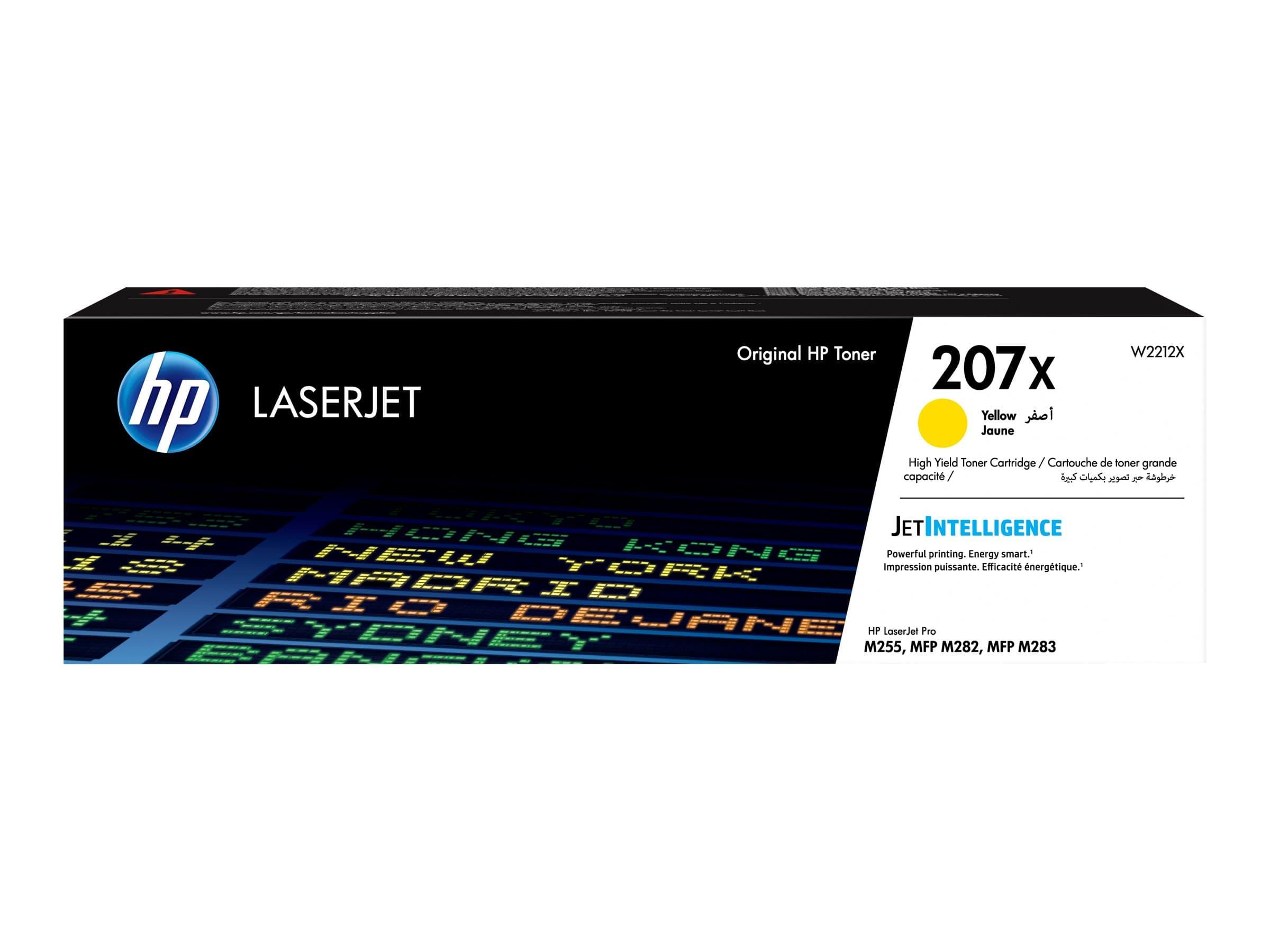 HP 207X - jaune - cartouche laser d'origine