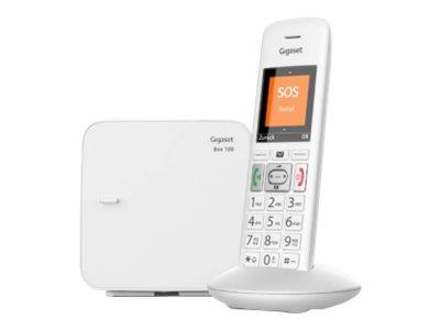 Gigaset E370 - téléphone sans fil avec ID d'appelant