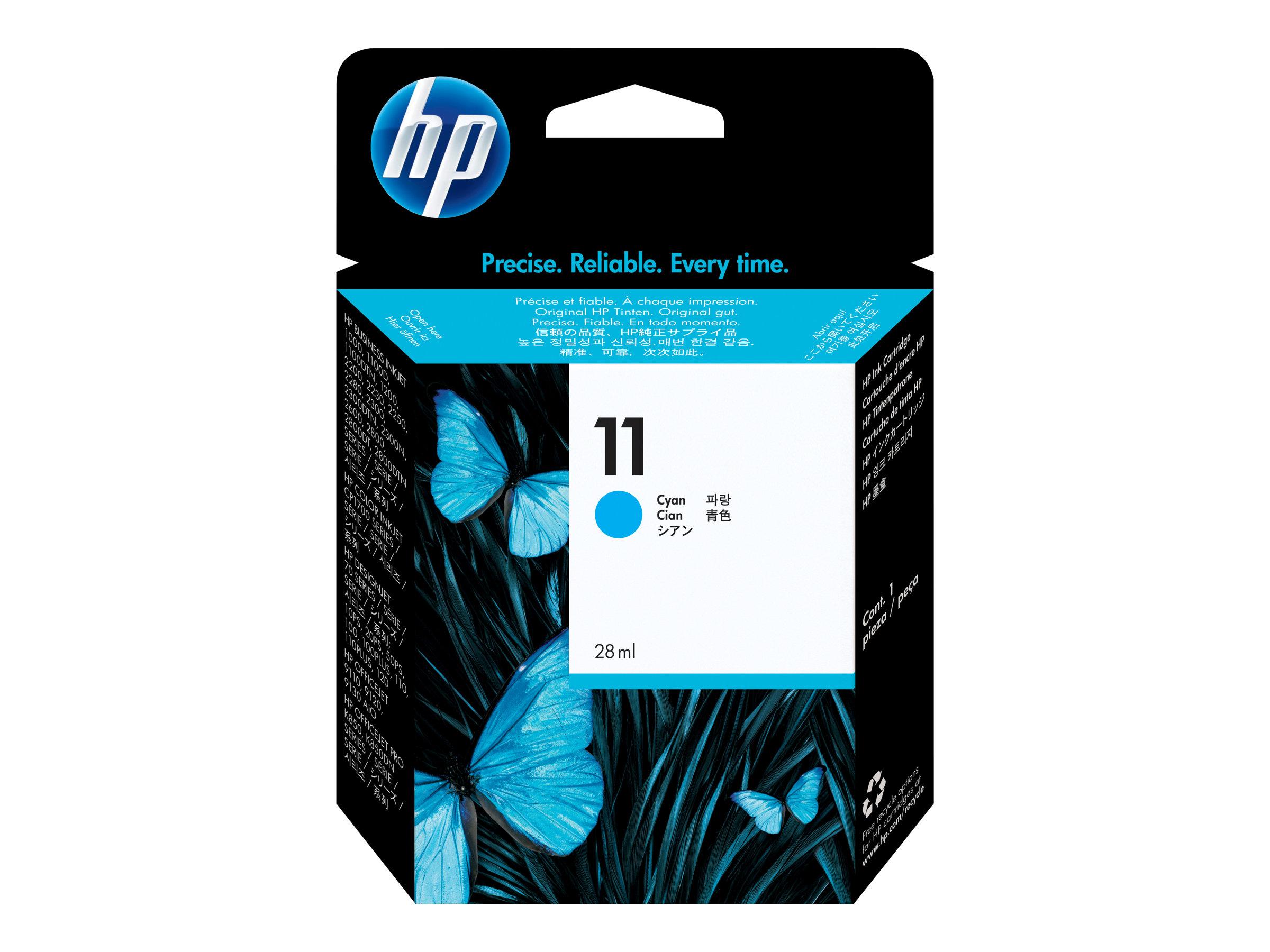 HP 11 - cyan - cartouche d'encre originale