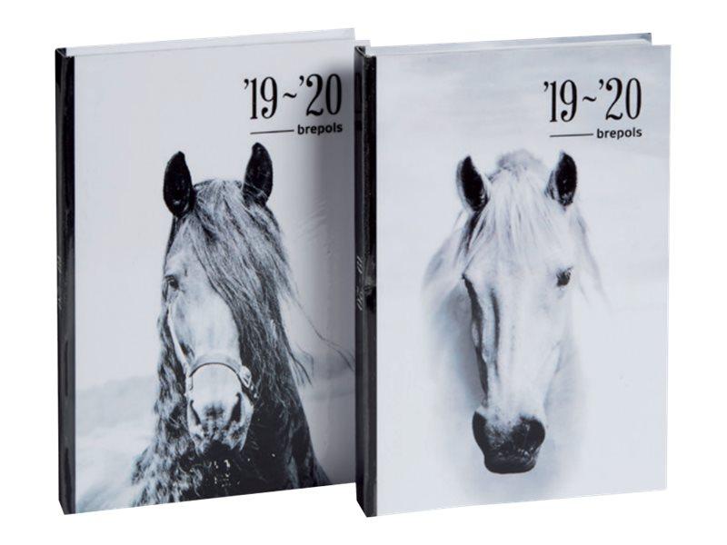 Agenda Equus - 1 jour par page - différents modèles disponibles - Brepols