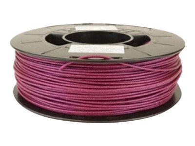Dagoma Chromatik - filament 3D PLA - violet pailleté - Ø 1,75 mm - 750g