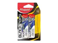 MAPED Black'Peps - Pack de 24 - Mines pour porte mines - HB - 0,7 mm