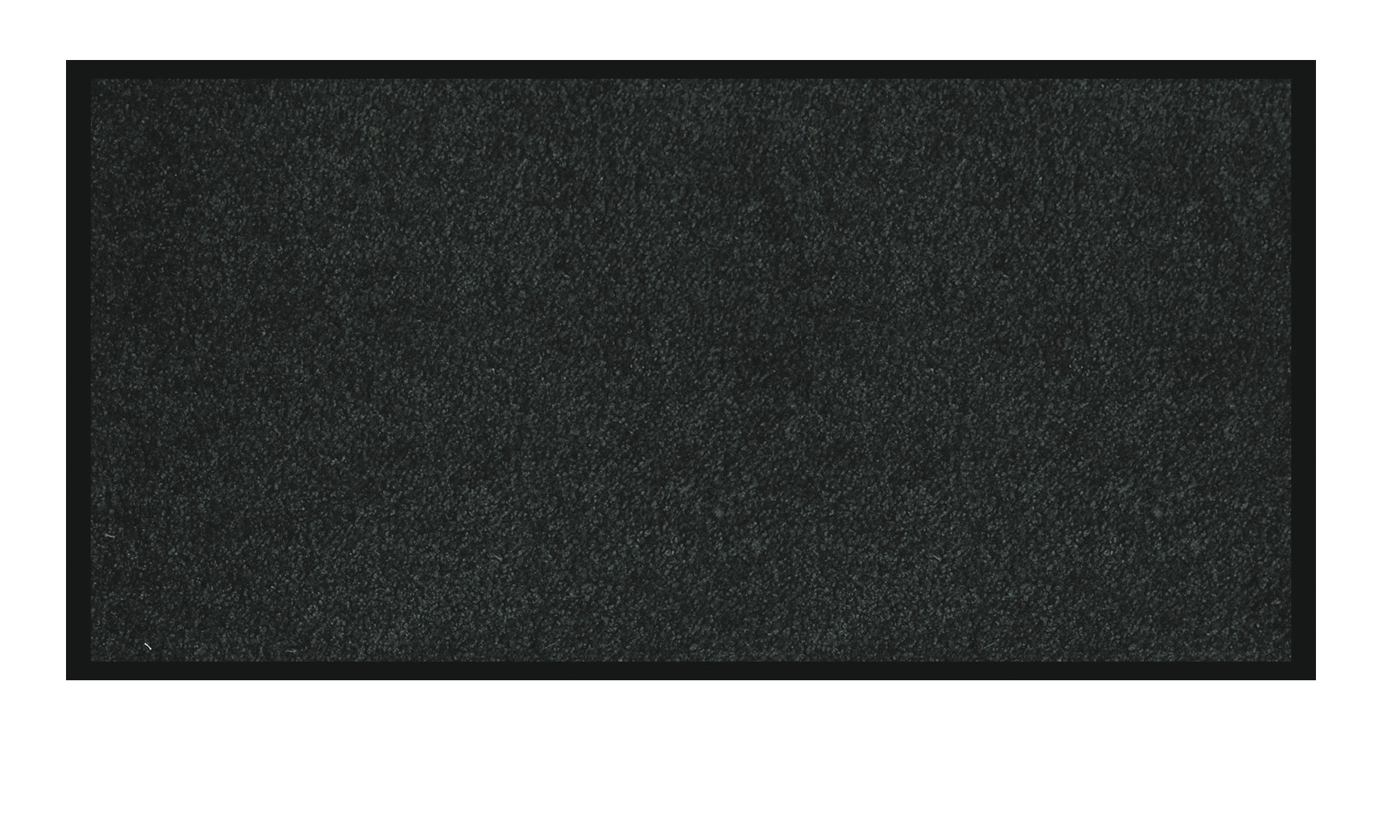 Tapis de sol absorbant RAINBOW - 90 x 150 cm - en polyamide - noir