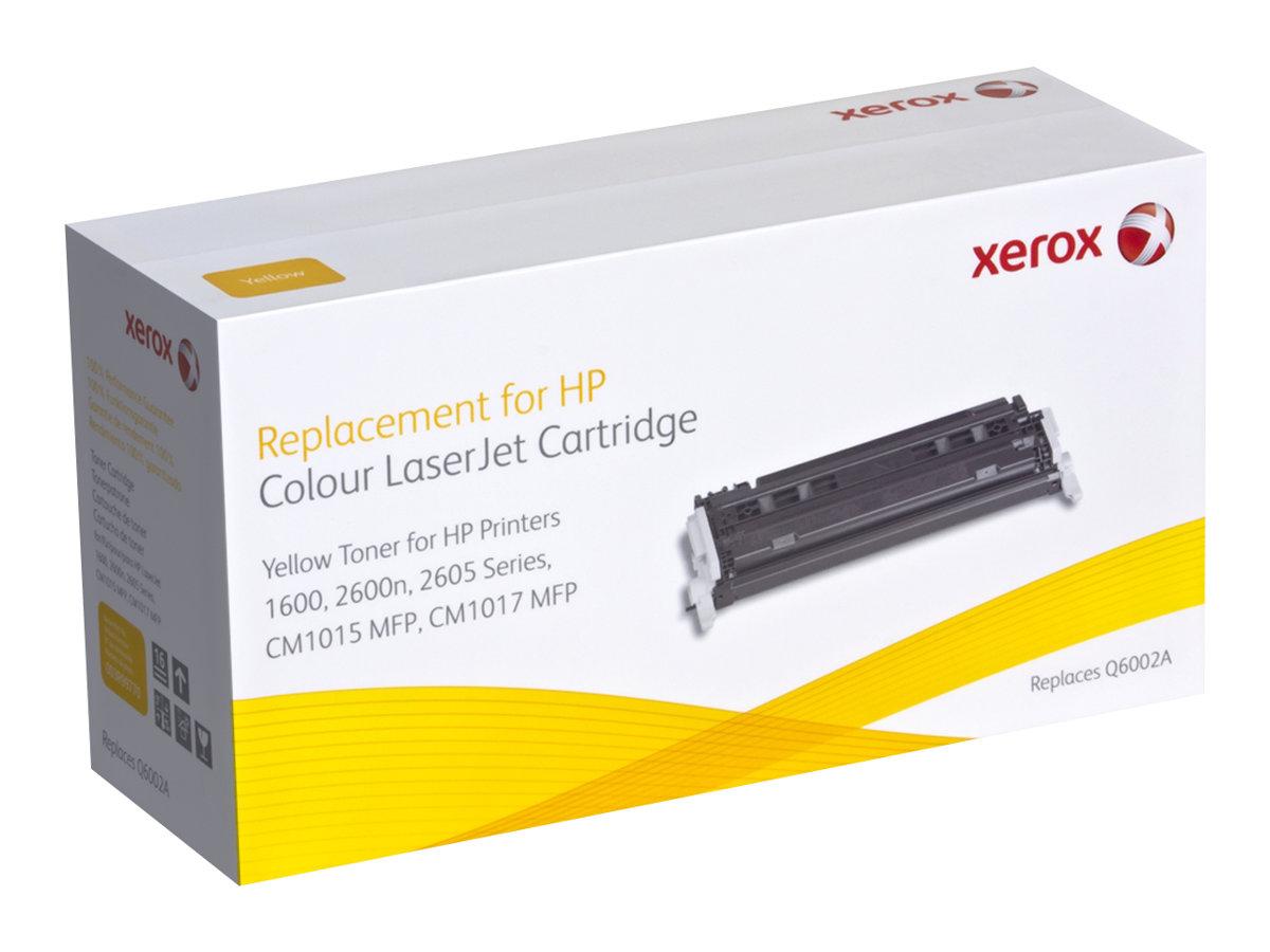 Xerox HP Colour LaserJet 2600/2605 series - jaune - cartouche de toner (alternative pour: HP Q6002A)