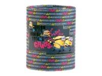 Les Minions - Pot à crayons rond modèle chaos - Clairefontaine