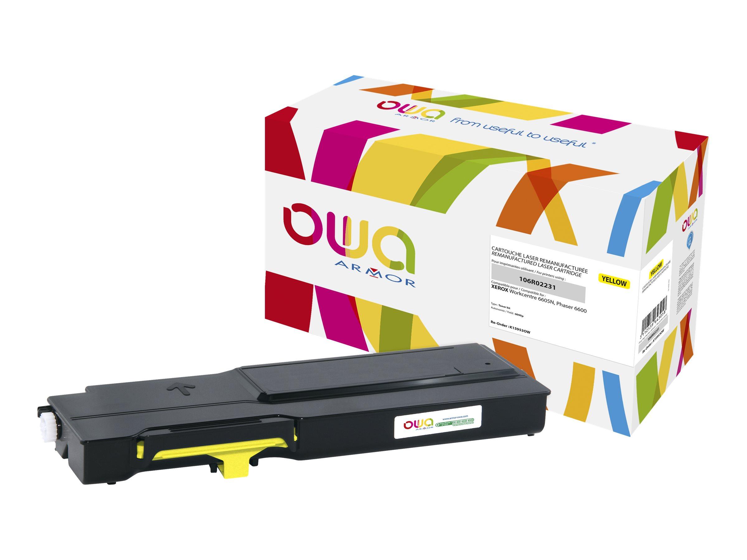Xerox 106R02231 - remanufacturé OWA K15953OW - jaune - cartouche laser