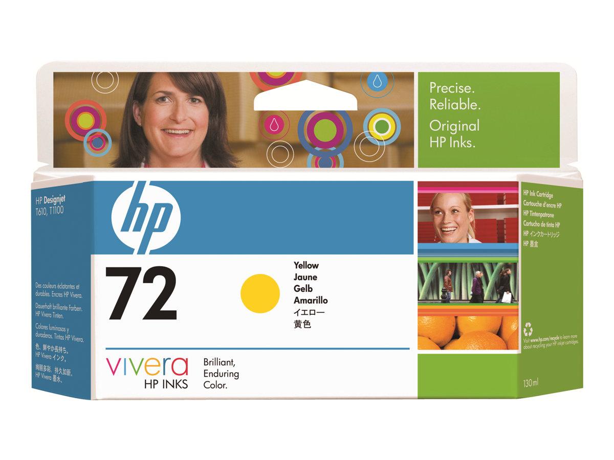 HP 72XL - jaune - cartouche d'encre originale