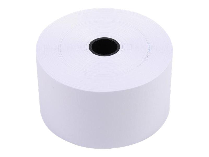 Exacompta - 10 Bobines caisses - papier offset 37 x 70 x 12 mm - 44 m