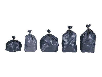 JET'SAC - 25 Sacs poubelle biodégradables 110L