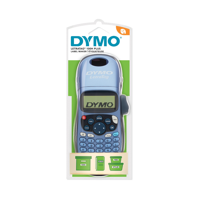 Dymo LetraTag plus -  Étiqueteuse  - imprimante d'étiquettes monochrome  - impression thermique directe