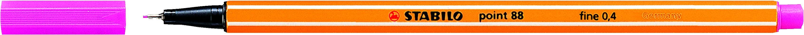 STABILO point 88 - Feutre fin - 0.4 mm - rose
