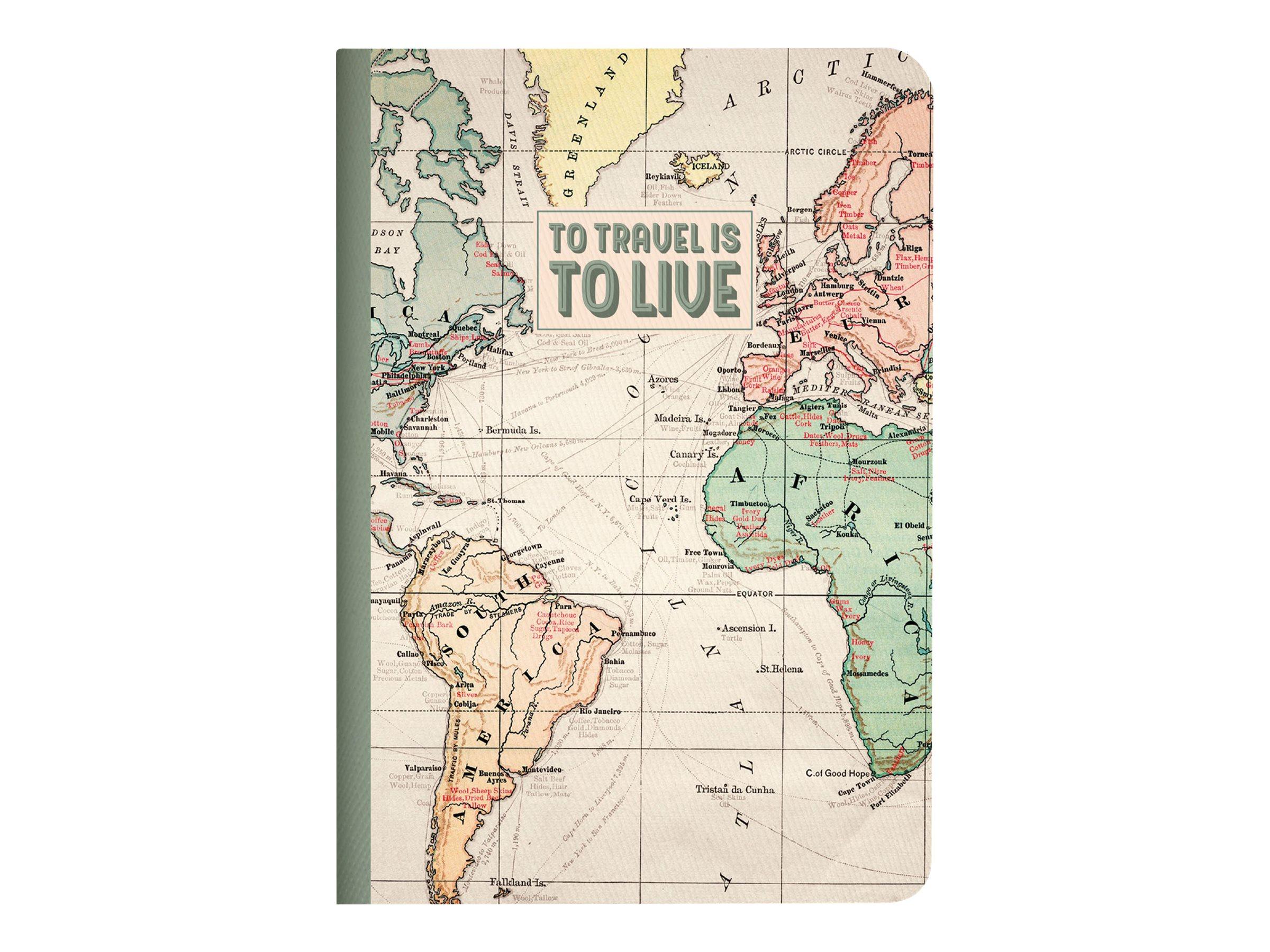 LEGAMI Travel Small - Carnet de notes A6