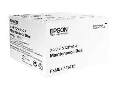 Epson T6712 - original - collecteur d'encre usagée