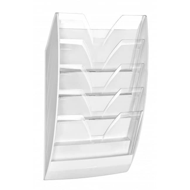 CEP - Corbeille murale 5 compartiments - cristal