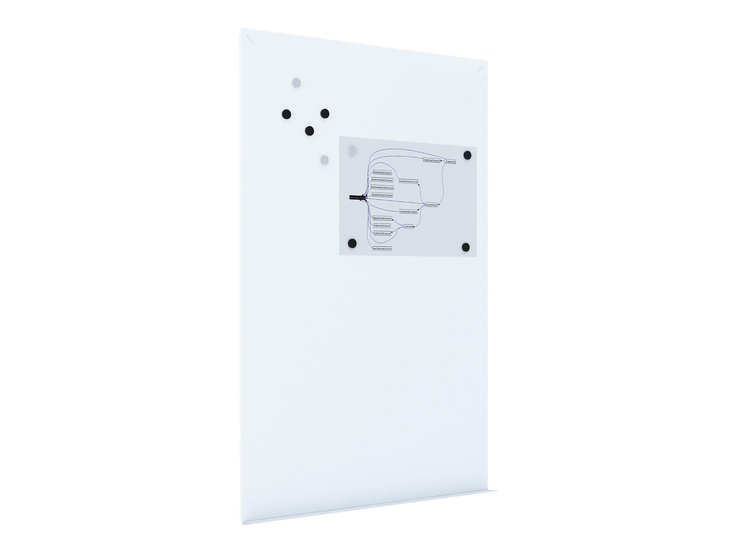 Rocada by CEP - Tableau blanc sans cadre - 100 x 150 cm