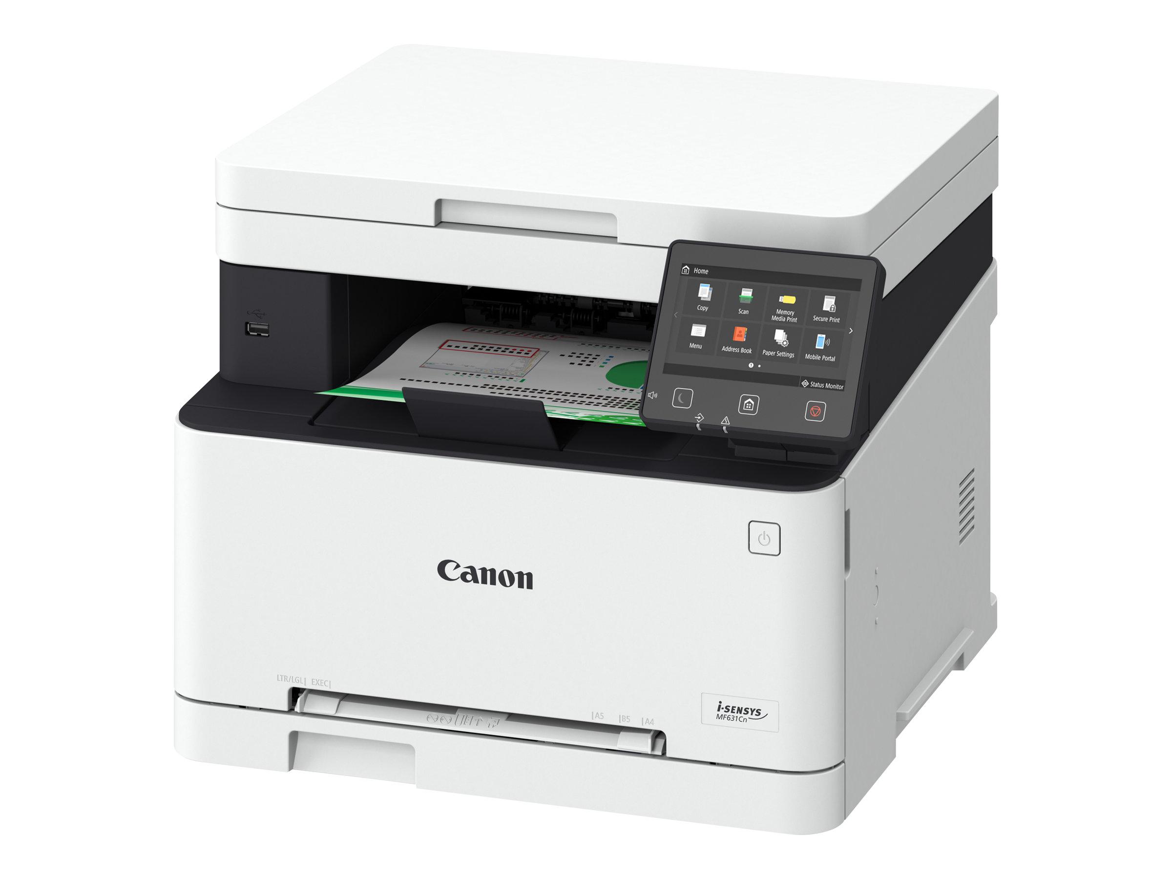 Canon i-SENSYS MF631Cn - imprimante multifonctions - couleur - laser