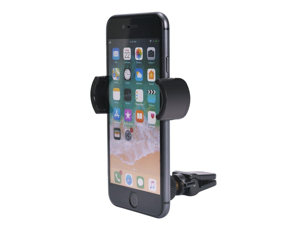 Bigben - support de voiture pour smartphone avec fixation sur grille aération - bras rotatif